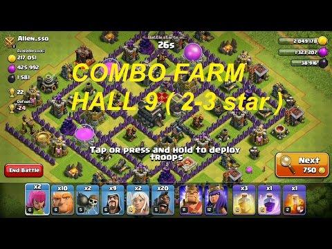 Combo farm hall 9 đơn giản