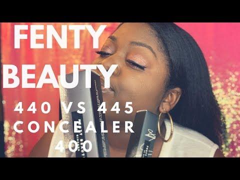 Fenty Beauty Concealer Review I 440 vs 445 vs 450 Foundation