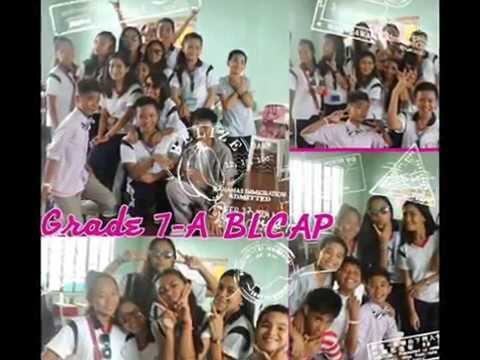Selfie's of Grade7~A of Beulah Land Christian Academy of Palawan Inc.