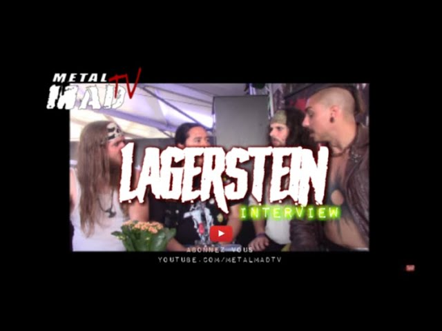 Interview LAGERSTEIN at WACKEN