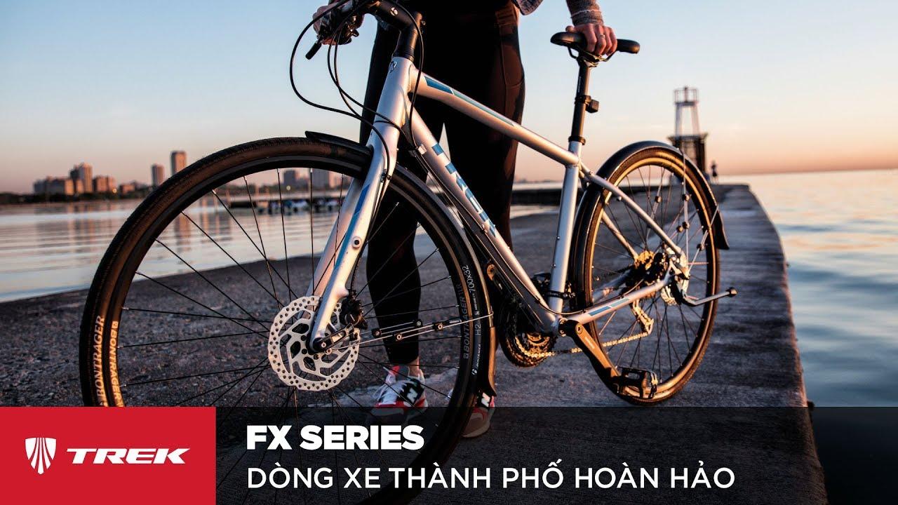 Xe đạp thành phố Trek FX – Đơn giản. Linh hoạt. Hiệu quả.