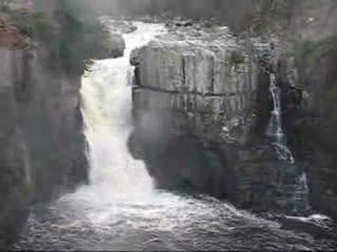 Low Force & High Force waterfalls in Teesdale