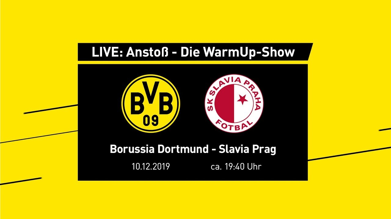 LIVE: Anstoß - Die WarmUp-Show mit Nobby Dickel & Roman Weidenfeller | BVB - Slavia Prag