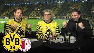 Anstoß - Die WarmUp-Show mit Nobby Dickel & Roman Weidenfeller | BVB - Slavia Prag