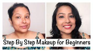 Step by step Makeup For Beginners in Hindi    स्टेप बाय स्टेप मेकअप कैसे करे (RJ mahek)