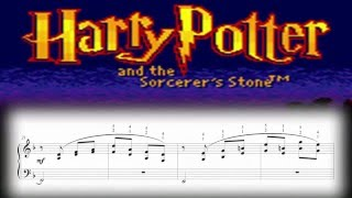 Harry Potter and the Sorcerer's Stone (GBC) - Main Theme (Piano Sheet Music)