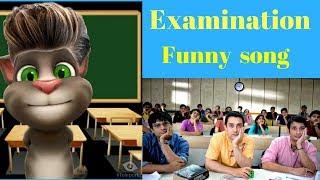 sanu ek pal chain na aave song||student teacher funny videos|talking tom videos hindi|my talking tom