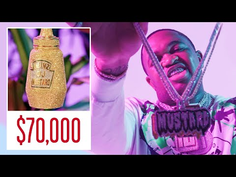 Mustard Shows Off His Insane Jewelry Collection | GQ