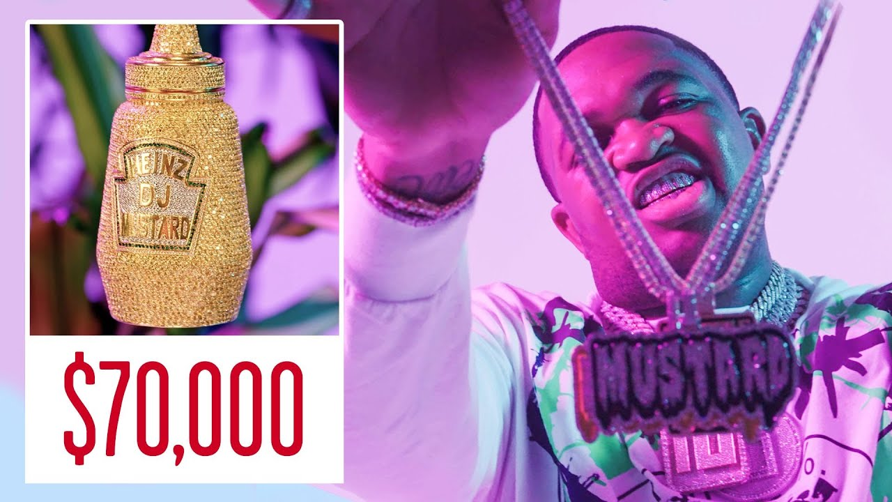 Mustard Shows Off His Insane Jewelry Collection