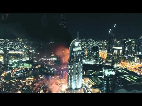 THE ADDRESS HOTEL DOWNTOWN DUBAI ON FIRE