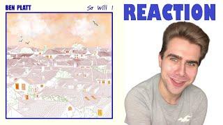 Download Lagu Ben Platt - So Will I Single REACTION MP3