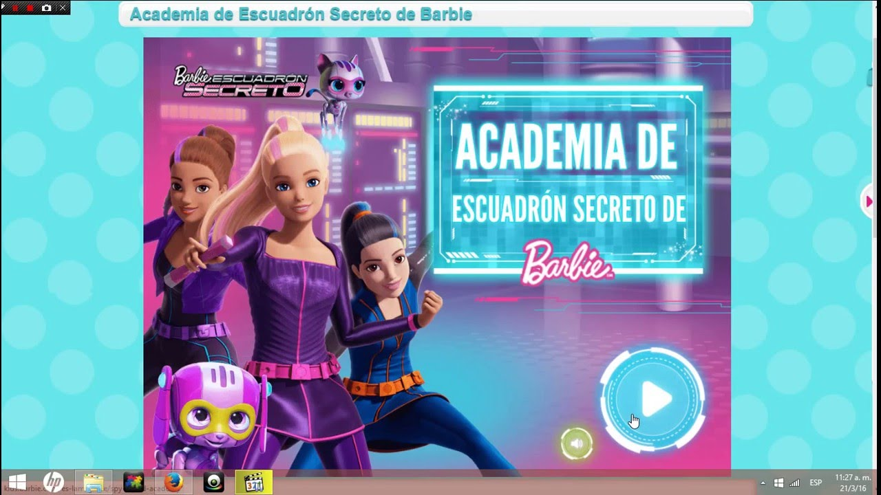 Juego Para Pc De Barbie Youtube