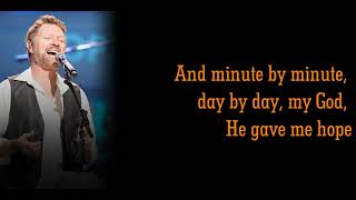 Craig Morgan - The Father, My Son, and the Holy Ghost (Grand Ole Opry LIVE performance - Lyrics)