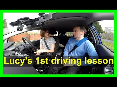 Lucy's driving lessons episode 1 - Car controls and moving off