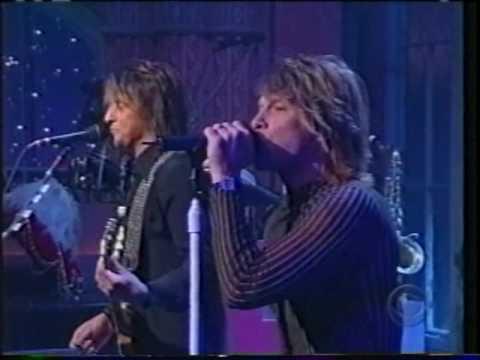Bon Jovi - Everyday con David Letterman