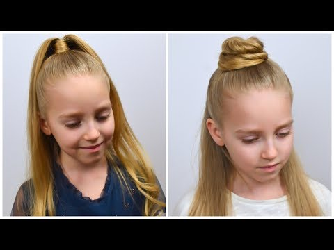 how-to-half-up-ponytail---trendy-hairstyles-2020-(3-ways)-by-littlegirlhair