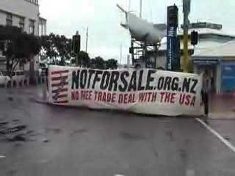 Actions against NZ-US Partnership Forum 1