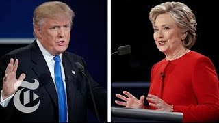 First Presidential Debate | Election 2016 | The New York Times