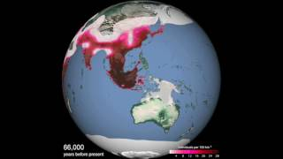 Predicted spread of humans around the world | Science News