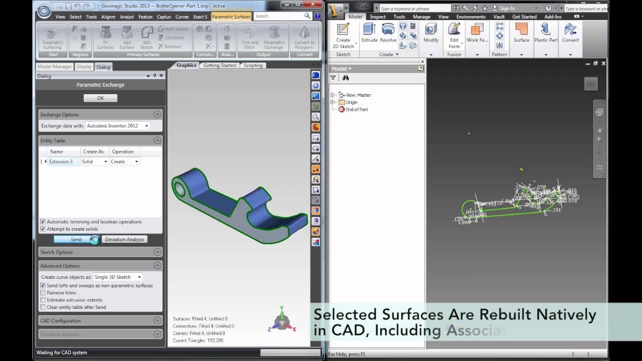 Post Production in Geomagic - Harvard GSD Fabrication Lab - Harvard Wiki