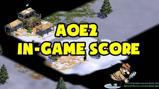 AoE2 In-Game Score