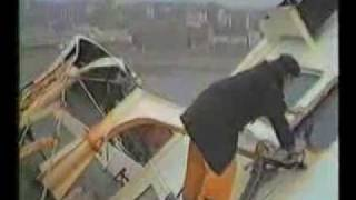 Navena 1984 Trawler beached, Scarborough UK - 4