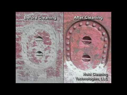 Bulk Carrier Cement Hold Cleaning and Maintenance