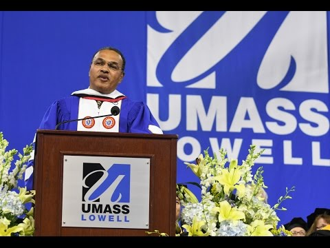 Freeman Hrabowski III UMass Lowell Commencement Speech
