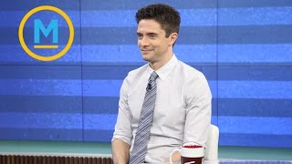 Topher Grace is alive and well! He also got to work with Brad Pitt | Your Morning