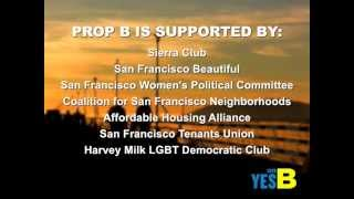 VOTE YES ON B:  Protect The Waterfront We Love