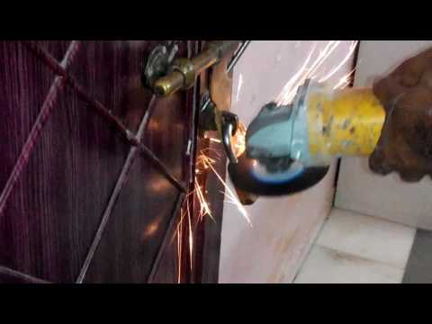 Cutting lock with grinder part-1/2