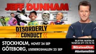 Jeff Dunham - Stockholm & Göteborg september 2013 - Trailer