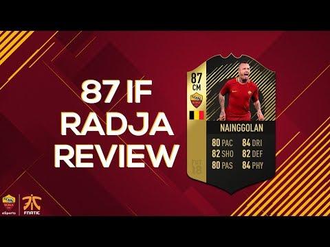 FIFA 18 IF RADJA NAINGGOLAN PLAYER REVIEW   Roma Esports