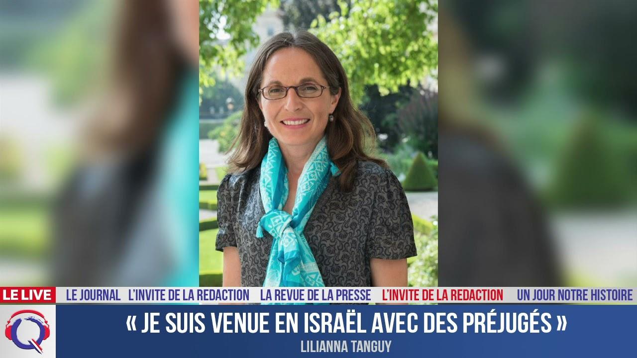 « Je suis venue en Israël avec des préjugés » - L'invité du 21 juillet 2021