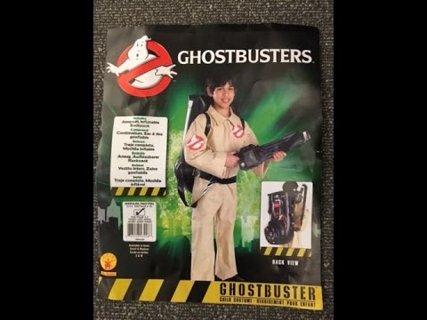 ghostbusters halloween costume kids ghostbusters costume