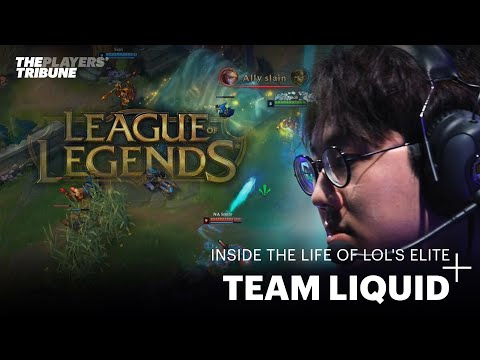 Inside the life of competitive gaming's elite: Team Liquid