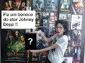 Fiz um BONECO do ator Johnny Depp de PAPEL MACHÊ