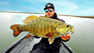 Catching Bass of a LIFETIME!!! STATE RECORD Quest Ep.1