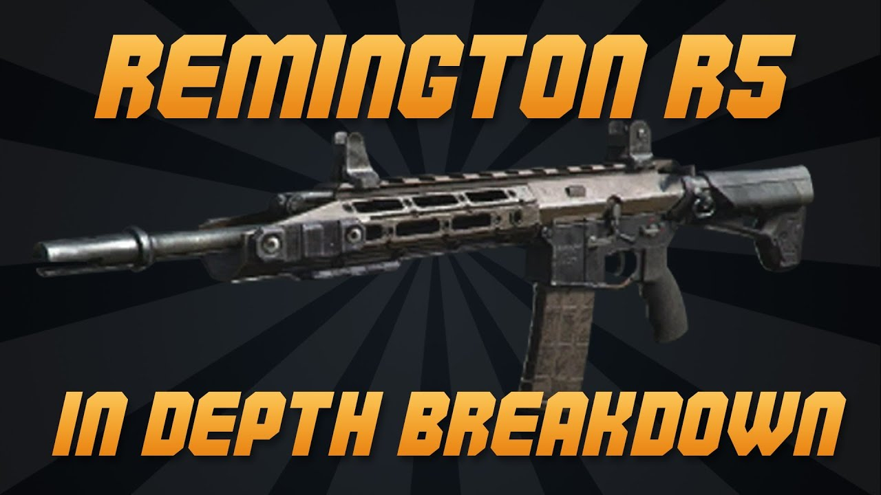 Call of Duty: Ghosts - IN DEPTH - REMINGTON R5 ASSAULT ...  Call of Duty: G...
