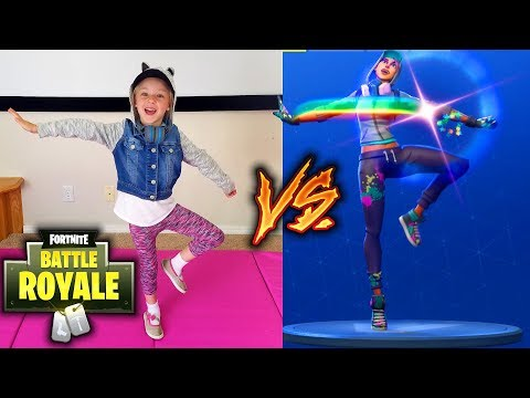 FORTNITE DANCE IN REAL LIFE CHALLENGE All New Dances Star Power