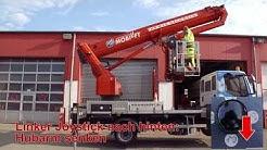 LKW-Arbeitsbühne 28 Meter mieten - Einweisungsvideo Mobilift L285-001