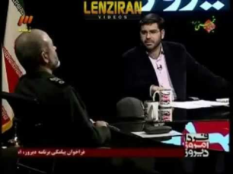 """Iranian television shows ultra fighter jet """"Ghaher 313 ' flying !"""
