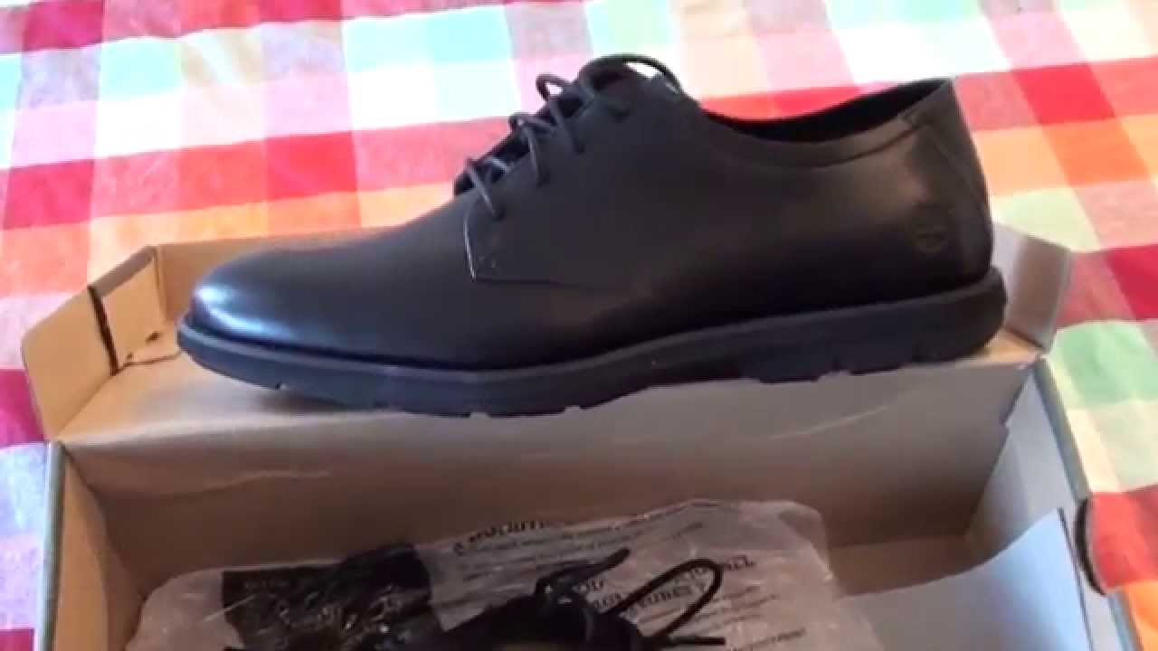 Timberland Men's Kempton Oxford Shoes Black Smooth unboxing