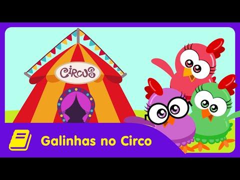 Galinha Pintadinha Mini - Historinha - Galinhas no Circo
