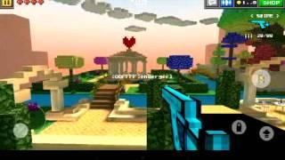 Pixel gun 3d  heaven garden