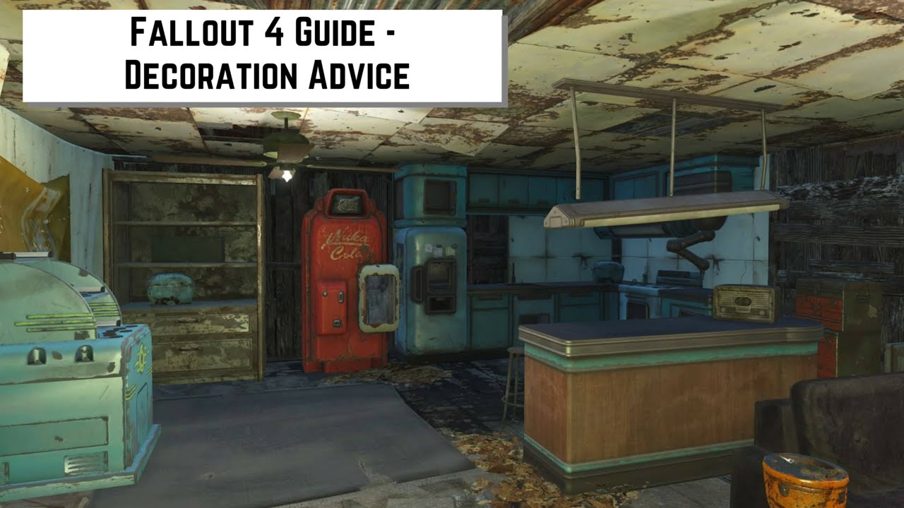 Fallout 4 Guide Decoration Advice Youtube