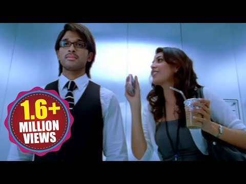 Allu Arjun And Kajal Agarwal Kiss Scene In Lift... thumbnail