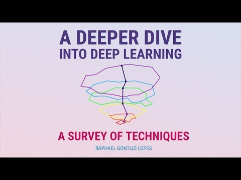 Deeper Dive Into Deep Learning: a survey of techniques (Raphael Gontijo Lopes)