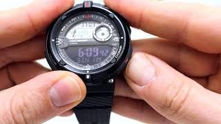Годинник Casio Outgear SGW-600H-1B Інструкція, як налаштувати від PresidentWatches.Ru