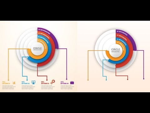 Circle Infographic Photoshop Tutorial